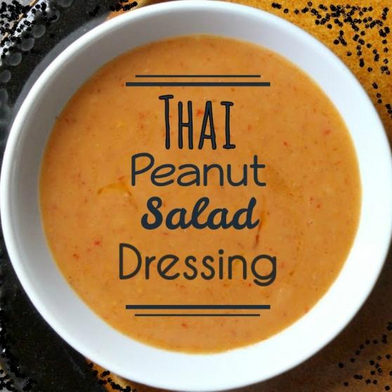 Thia Peanut Salad Dressing